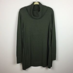 H by Halston - Tunic Length Long Sleeve Sweater
